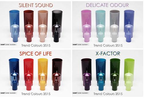 kaiser lacke gmbh: inspiration colors 2015 - Trendwandfarben
